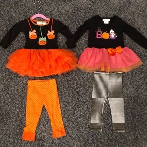 Blueberi & Bonnie Baby 18mo 2 piece fall outfits